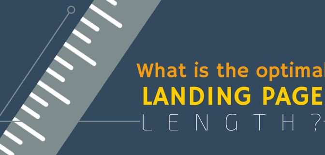 what is the optimal landing page length