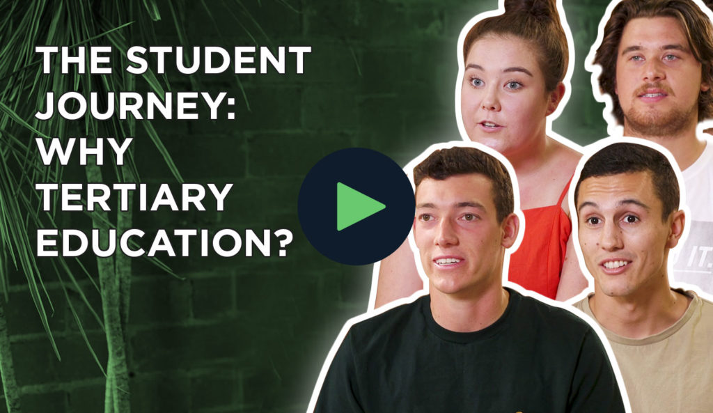 Understanding the student journey and why choose tertiary education